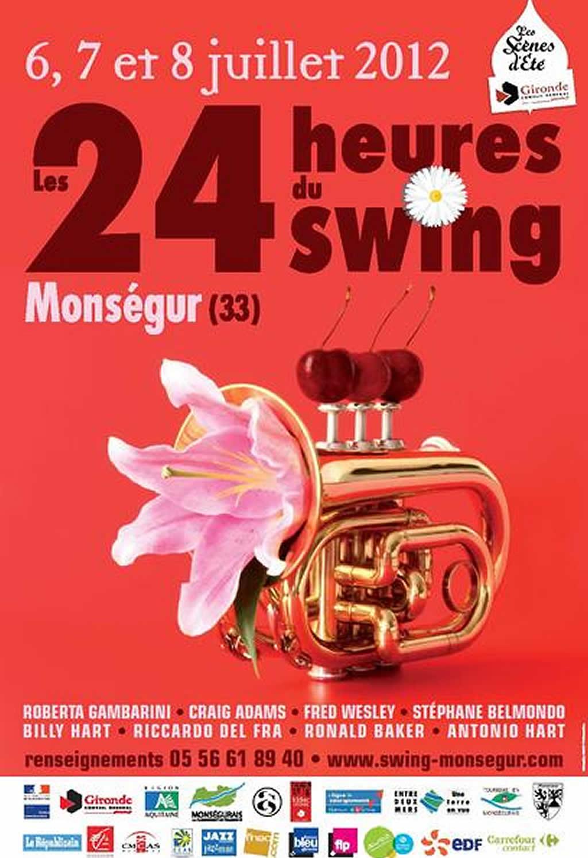 Les 24 heures du Swing 2012