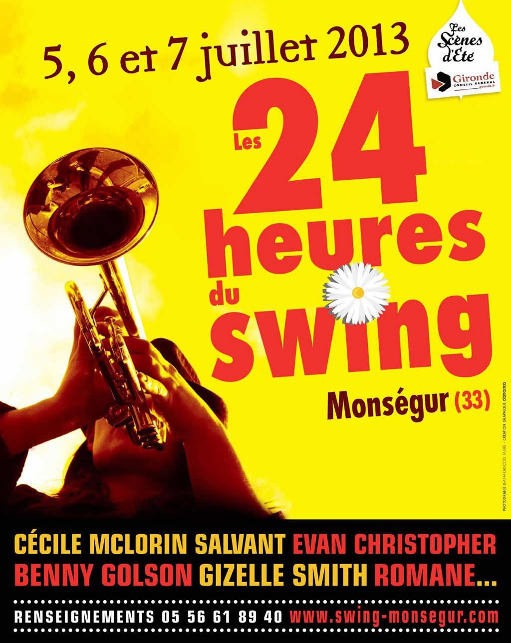 Les 24 heures du Swing 2013