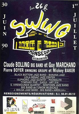Les 24 heures du Swing 1990