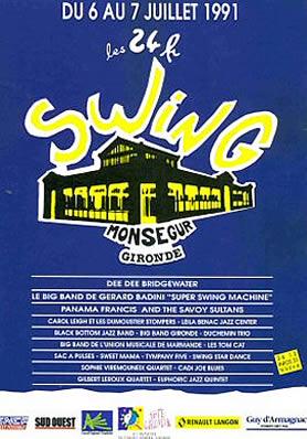Les 24 heures du Swing 1991
