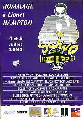 Les 24 heures du Swing 1992