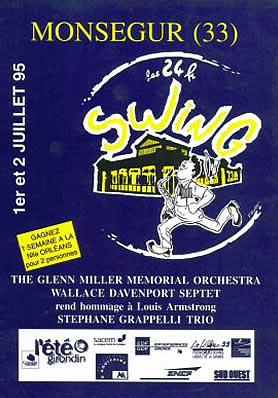 Les 24 heures du Swing 1995