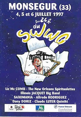 Festival jazz Les 24 heures du swing 1997