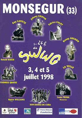 Les 24 heures du Swing 1998