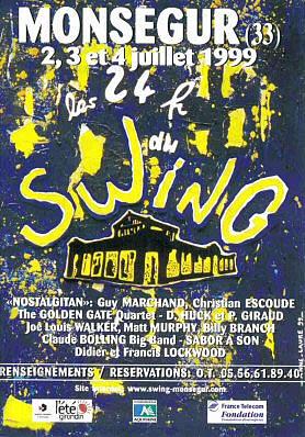 Les 24 heures du Swing 1999