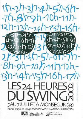 Les 24 heures du Swing 2002
