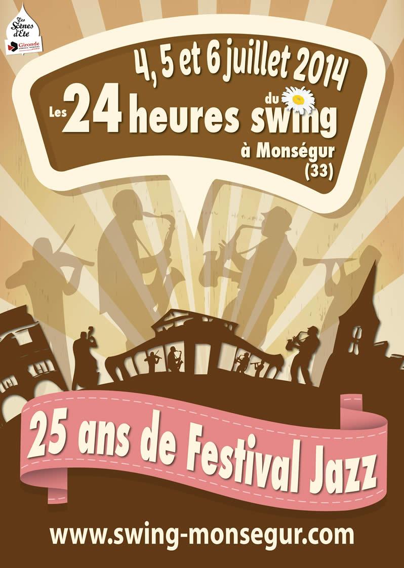 Les 24 heures du Swing 2014