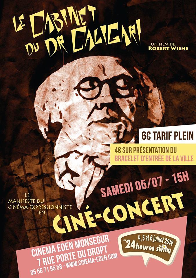 Ciné Concert, le jazz s'invite au cinéma Eden