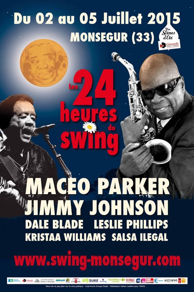 Affiche les 24 heures du Swing 2015
