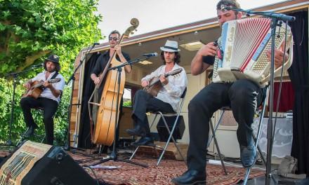 Les Romano Dandies «caravane-scène»