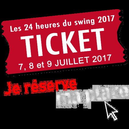 Réservation Festival 2017