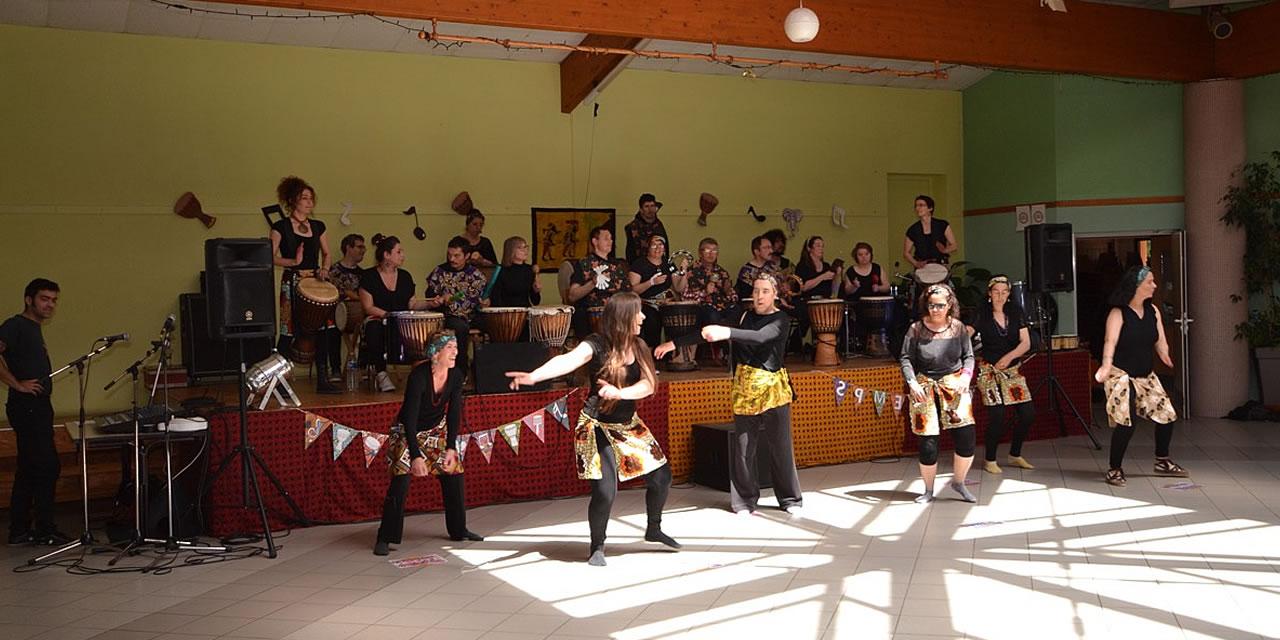 Les Percutants - Festival Les 24 heures du swing 2017 - Monségur