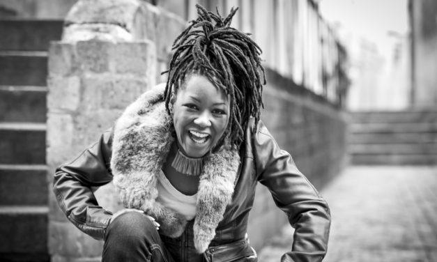 Monique Thomas marraine  de la classe jazz