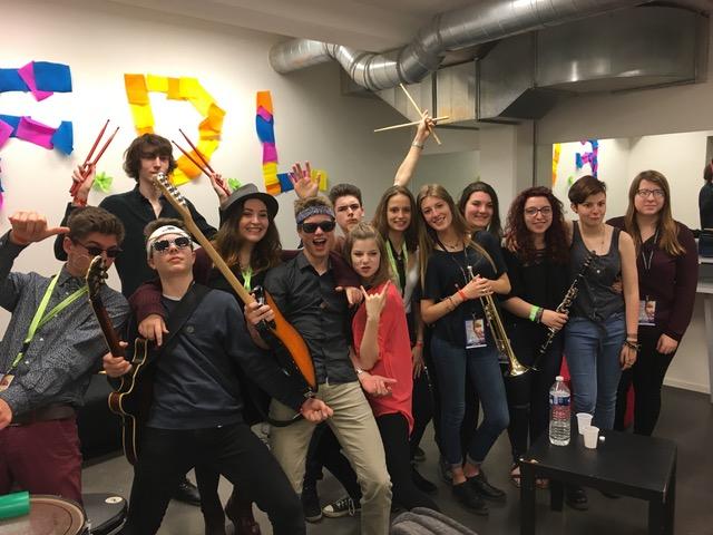 Atelier soul/jazz  du Lycée de La Réole