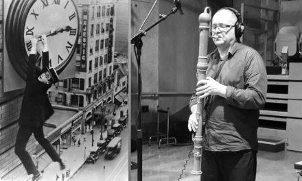 Christian Paboeuf «Safety Last» avec Harold Lloyd