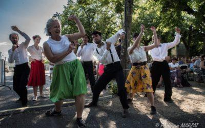 Danse et Stage Swing pendant le Festival